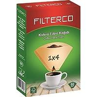 Filterco Filtre Kahve Kağıdı 1/4 80 li