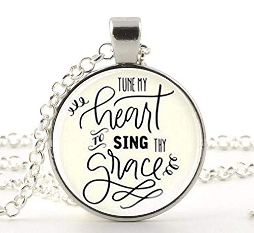 Tune My Heart to Sing Thy Grace Tag Hymn Tag Hymn Tag Inspirational Gift, Christian ()