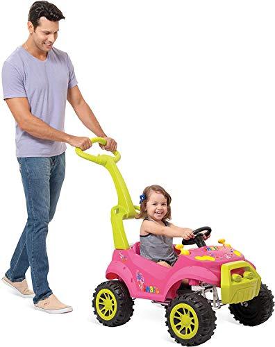Veiculo para Bebe Smart Passeio e Pedal, Bandeirante, Multicor