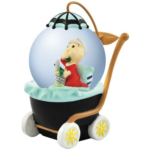 Westland Giftware Popeye Sweet Pea Water Globe, 45mm -