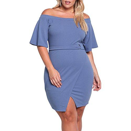 Asymmetrical Mini Dress - 8
