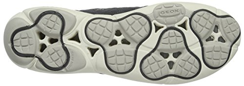 Grau Nebula Baskets Geox Basses A D Femme ANTHRACITEC9004 PaWSx