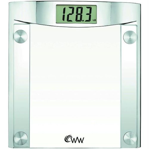 Weight Watchers Ww44n Weight Watchers® By Conair Glass Digital Scale
