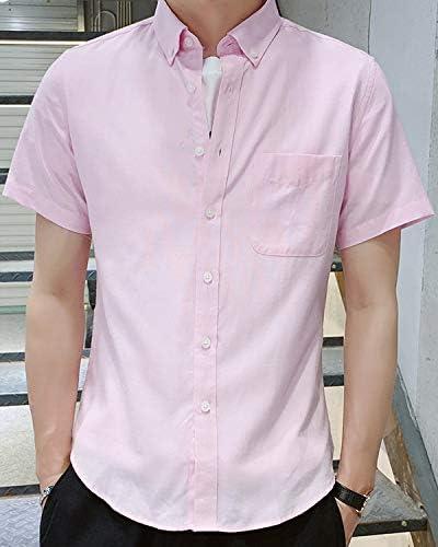完全ノーアイロン 360°ストレッチ シャツ メンズ シャツ メンズ オシャレ 半袖 速乾 無地 夏 細身通勤 通学 シャツ メンズ オックスフォードシャツ 綿