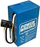 1 X Fisher Price 6 Volt, 4 Ah Blue Power Wheels Battery