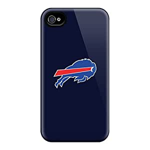 Awesome Design Buffalo Bills Hard Case Cover For Iphone 4/4s