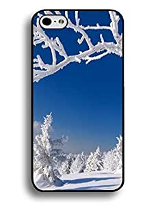 Custom Iphone 6 (4.7) Case Skin, Snow Scenery Print