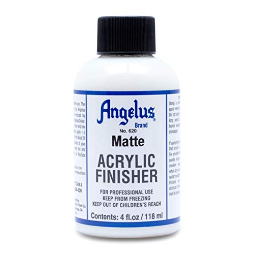 Angelus matte finisher Acrylic Leather Paint