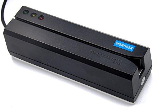 Deftun Card Reader Writer USB Swipe Encoder 3 Tracks MSR605X