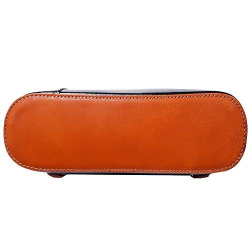 Florence Negro Convertible De En Leather bronceado Hombro 207 Bolso Market Mochila gwxqgzrA6