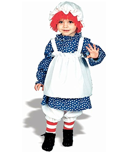 Raggedy Ann Costume - Child Costume (Raggedy Ann Halloween Costume Toddler)