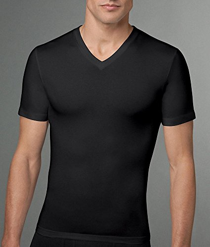 <b>SPANX Cotton Compression V-Neck T-Shirt</b>
