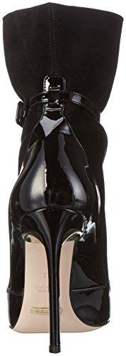 Sebastian S7126, Zapatillas De Estar por Casa para Mujer Negro