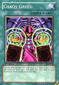 Yu-Gi-Oh! - Chaos Greed (IOC-038) - Invasion of Chaos - 1st Edition - - Chaos 038