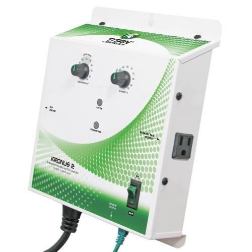 Titan Controls Temperature & Humidity Controller, 120V - Kronus 2