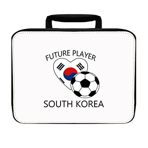 Future Soccer Player South Korea Insulated Lunch Box Bag by Style in Print