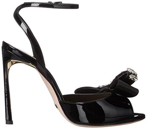 Women's Sandal Black Dress Black S6963 Sebastian Fw0dTF