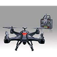 Tiean Global Drone X161 5.8GHz FPV 2MP HD Camera, 2.4GHz 4CH 6 Axis Gyro Quadcopter Drone - 3D Rollover/Headless Mode/One Key Automatic