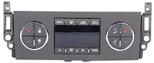 ACDelco 15-74169 GM Original Equipment Heating and Air Conditioning Control Panel with Rear Window Defogger Switch -