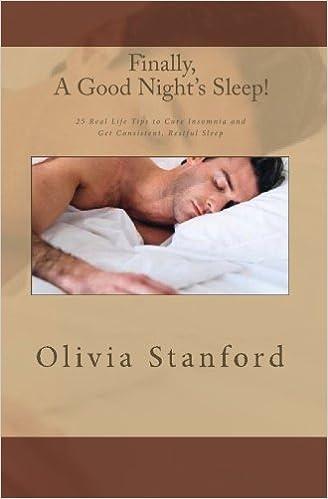 Insomnia, Finally, A Good Nights Sleep!