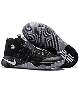 4342b079ec0d Kyrie Men s Irving 2 EYBL Black Grey Basketball Shoes