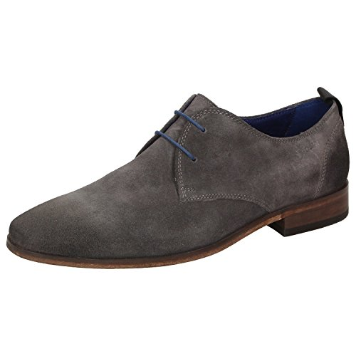 Sioux Men's Lace-Up Flats grey grey