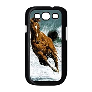 ALICASE Diy Back Case Horse For Samsung Galaxy S3 i9300 [Pattern-1]