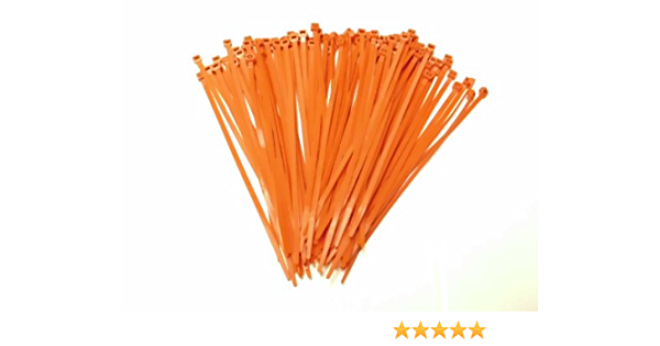 100, White Indoor and Outdoor UV Resistant Ultra Strong Plastic Wire Ties with 50 Pounds Tensile Strength Joy Fish Cable Ties Heavy Duty 8 Inch