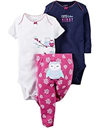 Carter's Baby Girls Take Me Away 3-Piece Little Character...