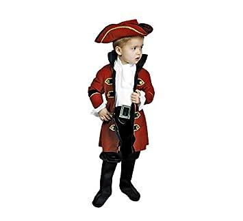 Disfraz de Rey Pirata 3-4 años para niño: Amazon.es: Juguetes y juegos