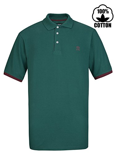 Relaxed Fit Short Sleeve Polo Shirt - 5