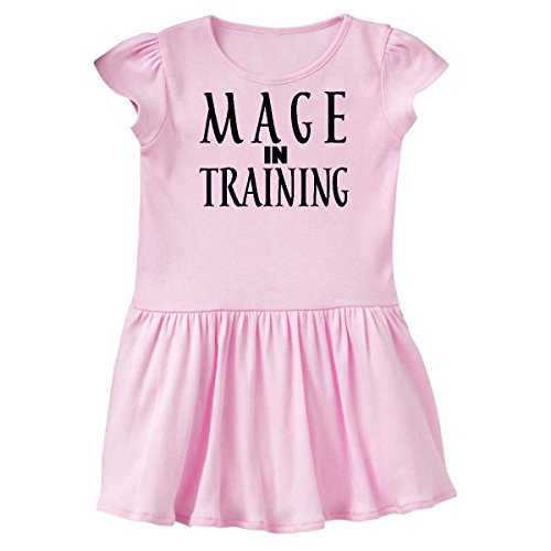 inktastic - Mage in Training Infant Dress 6 Months Pink 26e61
