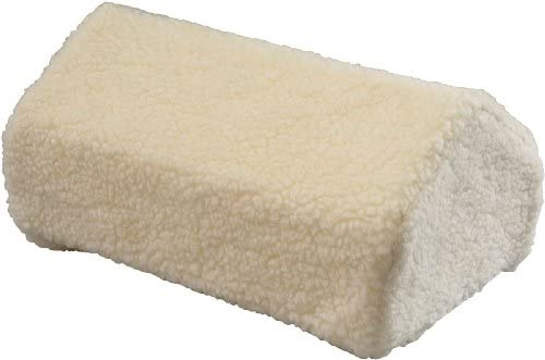 Hermell Products FW4000SHP Faux Shearling Leg Lifter Back Relief Cushion