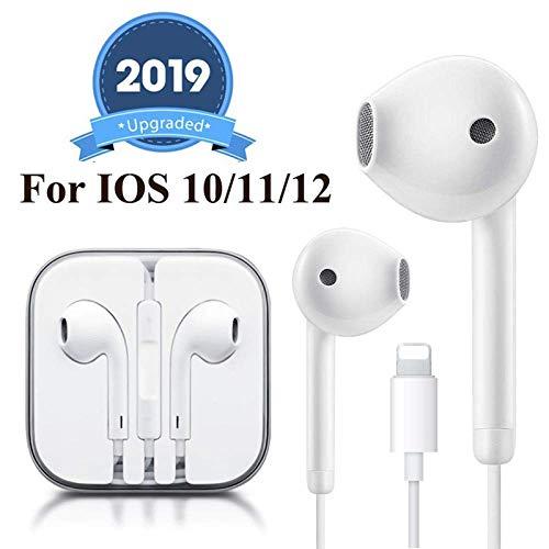 Earbuds/Earphones, Microphone Earphones Stereo Headphones Noise Isolating Headset Compatible with iPhone 7/7 Plus/8/8 Plus/X 10/XS/XS Max/XR Earphones