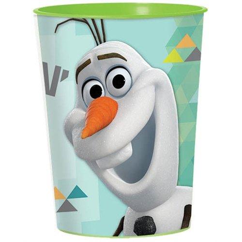 Amscan Olaf Plastic Cup, 16-Ounce ()