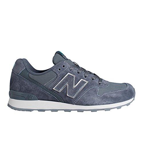 New Balance - Zapatillas de Piel para mujer gris Bianco 37.5