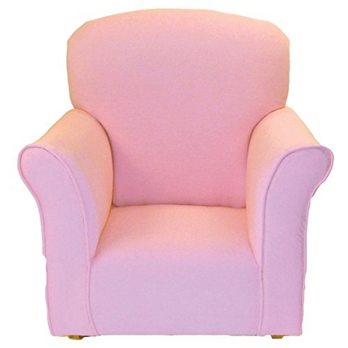 Brighton Home Furniture Toddler Rocker in Baby Pink Cotton