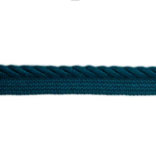 Sunbrella 3/8'' Twist Cord-Edge #07313-5418 Fabric, Deep Sea, Fabric By The Yard