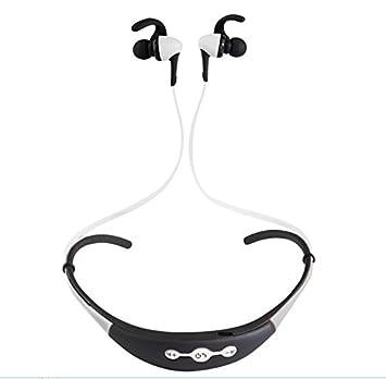 BKPH Teléfono móvil Auriculares Bluetooth Auriculares inalámbricos Auriculares estéreo con Bluetooth Auriculares estéreo Micrófono Manos Libres Auriculares ...