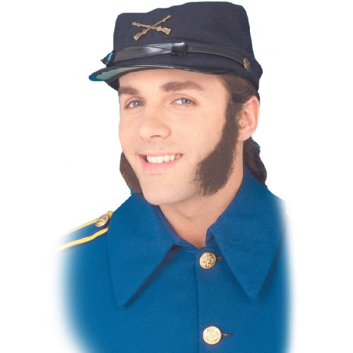 [Forum Novelties 125441 Mutton Chops Side Burns Brown] (Chop Chop Halloween Costumes)