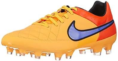 Nike Men's Tiempo Legacy Fg Lsr Orng/Prsn Vlt/Ttl Orng/Vlt Soccer Cleat 9.5 Men US