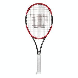 Wilson Tennisschläger Pro Staff 97LS, Red/Metallic Black, L3, WRT72500U3