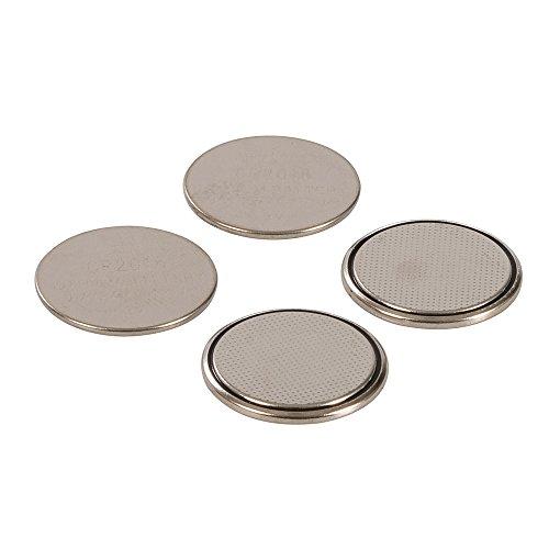 Silverline 350267 Lot de 4 Piles Bouton Lithium Cr2016
