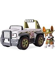 Nickelodeon Paw Patrol, Viervoetige Helper, Tracker's Jungle Cruiser, voertuig en figuur