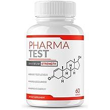 PHARMA TEST | Testosterone booster| Testosterone booster for men | Booster supplement | Test booster | For energy | Horny Goat Weed | Tongkat Ali | Boron