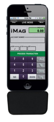 ID Technologies IDMR-AL30133A iMag Pro II Mobile MagStripe Reader, Lightning Connector, AES (Ipad Rfid Reader)