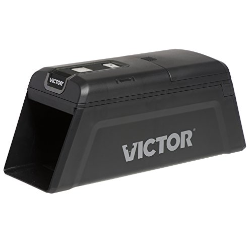Victor M2 Smart-Kill Wi-Fi Electronic Rat Trap, 1 Pack, Black