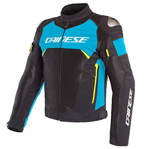 Dainese Dinamica Air D-Dry Jacket (54) (Black/Fire Blue/Fluorescent Yellow)