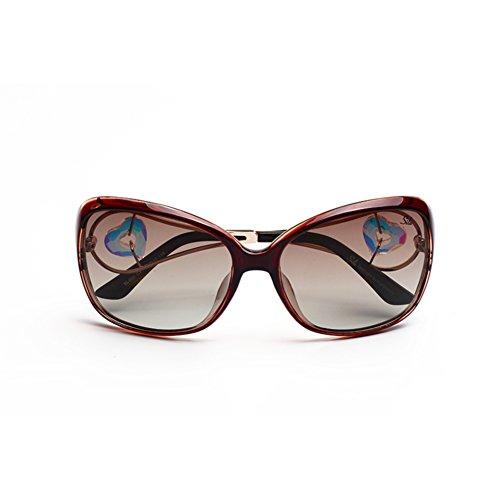 B soleil nbsp;Rond frame lunettes soleil Lunettes de Mesdames visage de polarisées H4xwngvZq