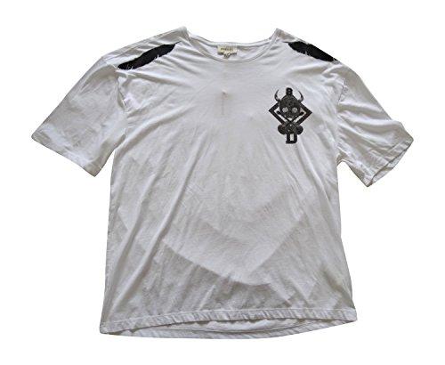 Diesel Herren T-Shirt Weiß Weiß Größe L
